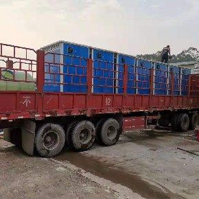 泓洁彩钢环保移动厕所出货防城港