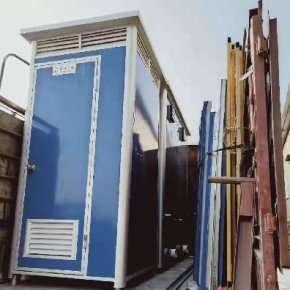 泓洁彩钢环保移动厕所出货钦州